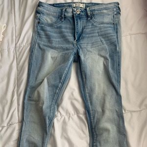 skinny and stretchy Abercrombie & Fitch jeans